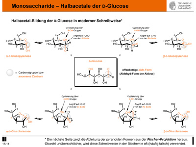 L Glucofuranose a-D-Glucofuranose